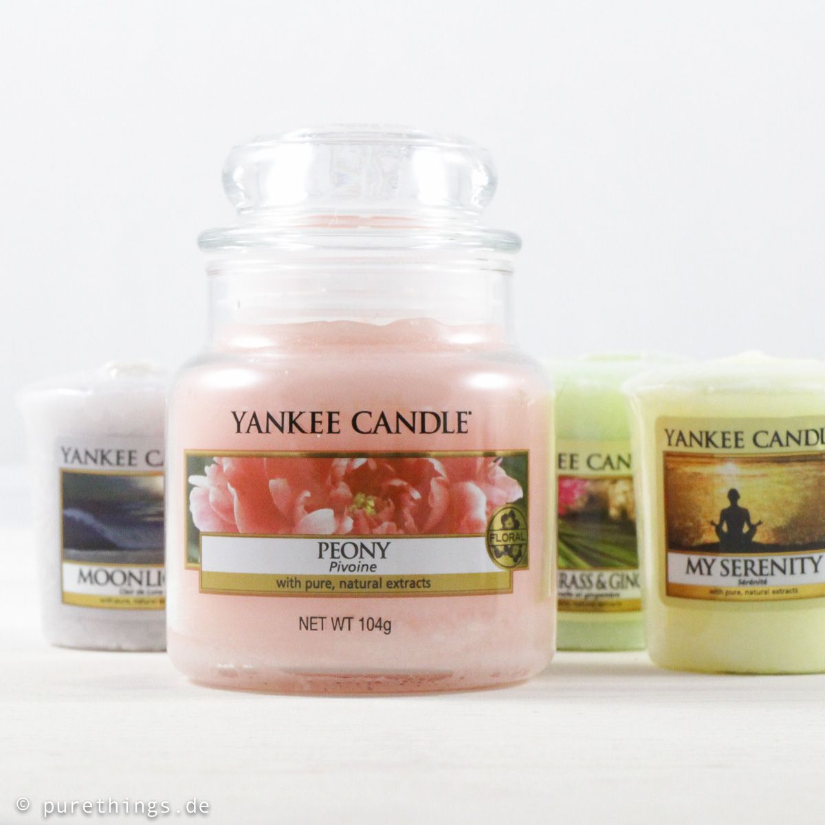 Yankee candle frühling peony moonlight lemongrass u ginger