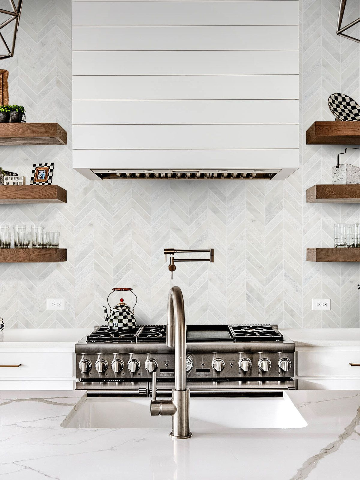- BA631613 - Marble In 2020 Tile Backsplash, White Marble