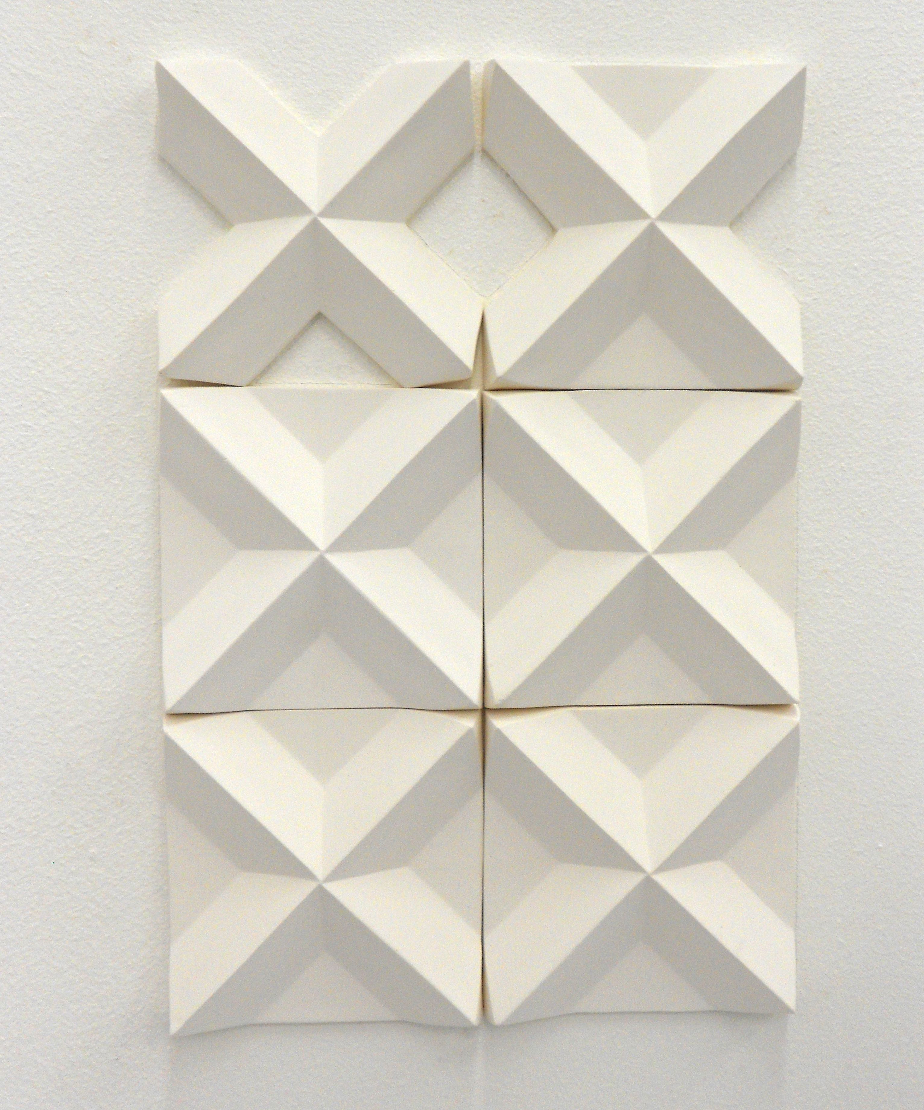 3D Wall Installation Tiles By Agnieszka Robak 2012