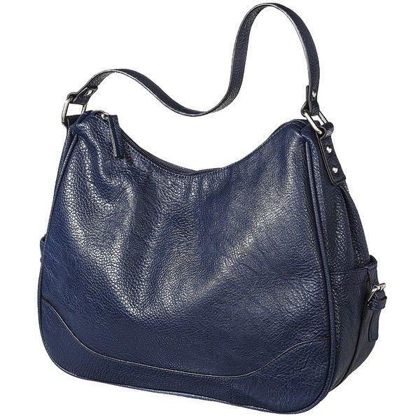 2967f6cb6ad Merona Zip Closure Hobo Handbag - Navy   Fashion   Pinterest   Hobo ...