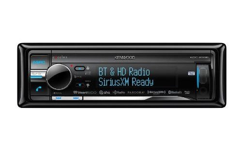 Kenwood eXcelon KDC-X998 CD Receiver with Built-in Bluetooth and...