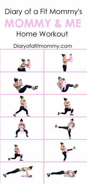Zu Hause trainieren mit Baby - Gesundheit und Fitness  #fitness #gesundheit #hause #trainieren