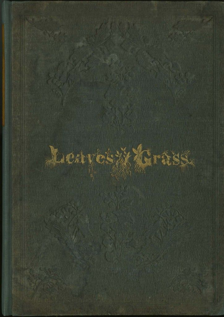 Leaves of Grass by Walt Whitman (1855) at University of North Carolina rare book collection