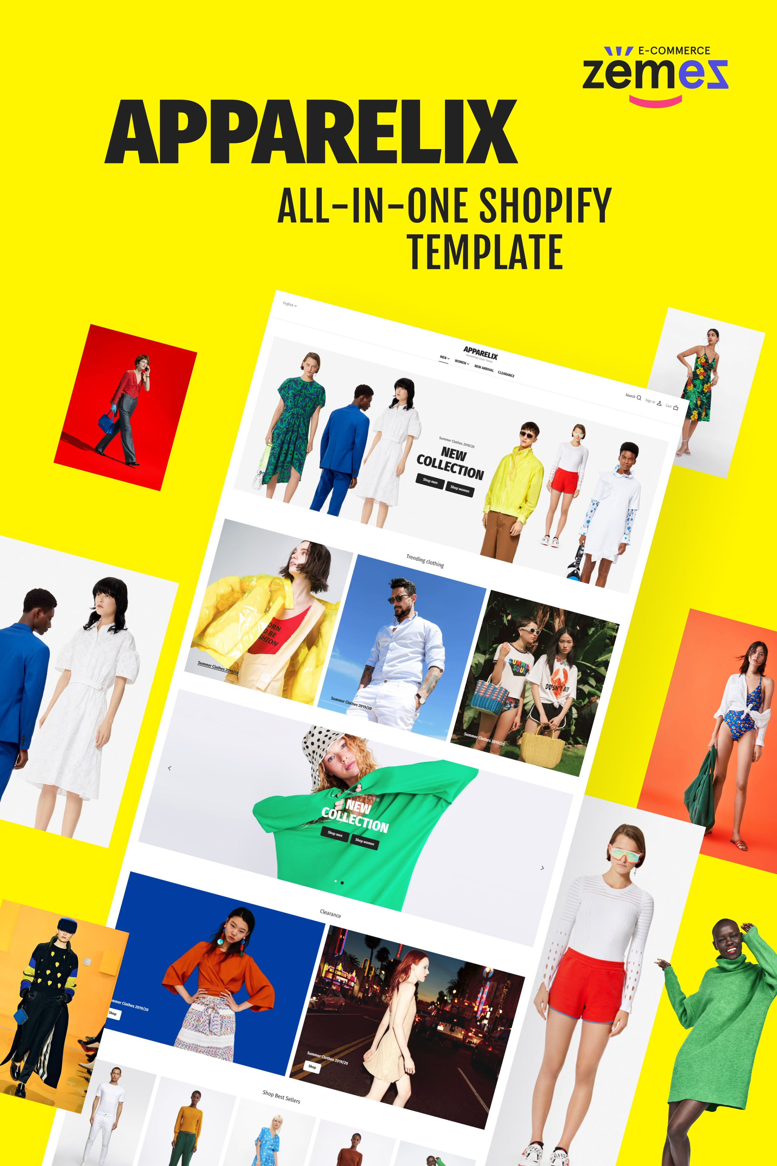 Clean Multipurpose Shopify Theme for Apparel Brand