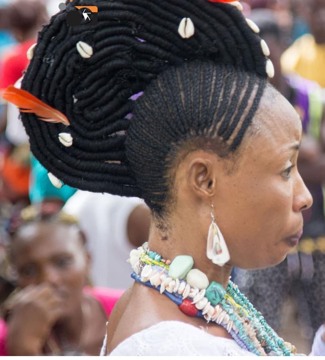Mzle Le On Instagram Yoruba Hairstyles Photographer Unknown Nigeria Yoruba Braids Hairstyles Hair Hair Styles Historical Hairstyles Cool Hairstyles