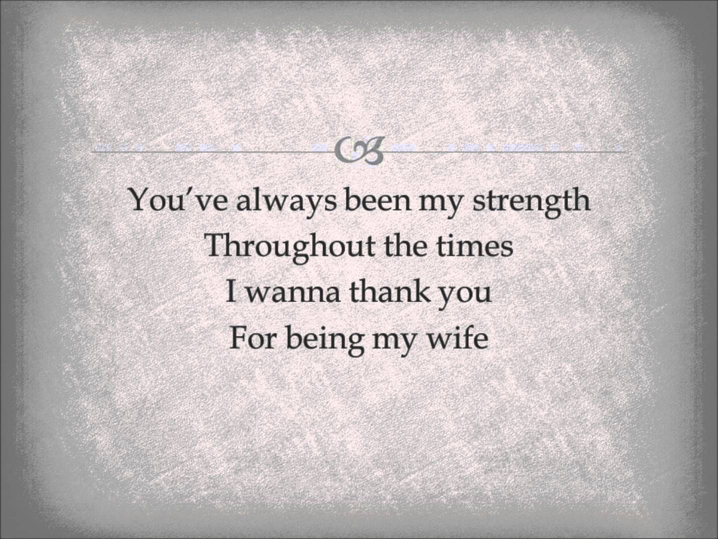 Al Martino Thank You For Being My Wife With Lyrics My Wife