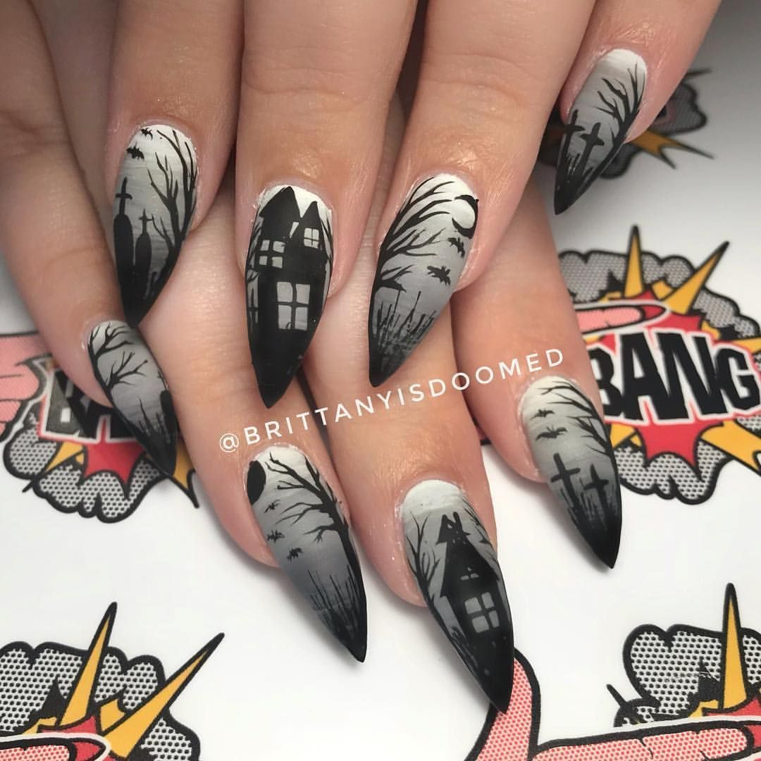 naildesign nailmaster nails haloweenmx naildesign