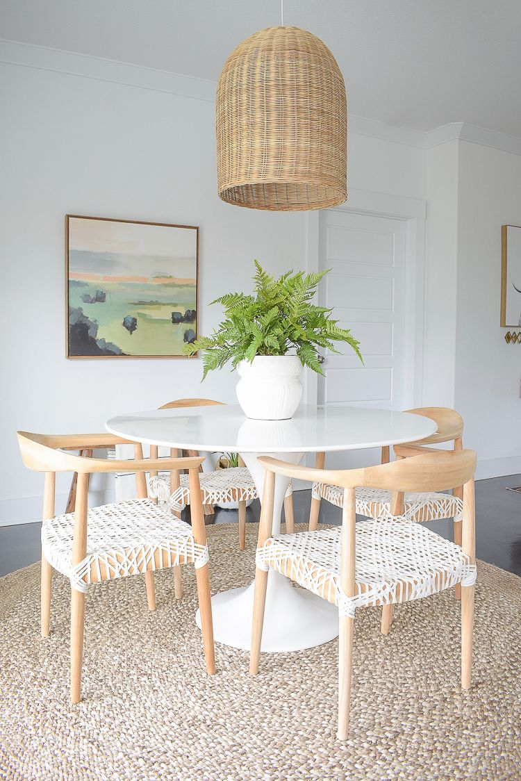 Spring Dining Room & Entry Home Tour