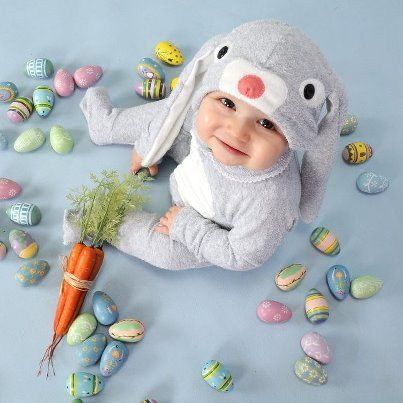 USD $89.00 @ LilCreatures This adorable Lil' Creatures Bunny Rabbit onesie suit and hat with it's long floppy ears, button eyes, cute little nose and so soft (comfy to sleep on) tail it…