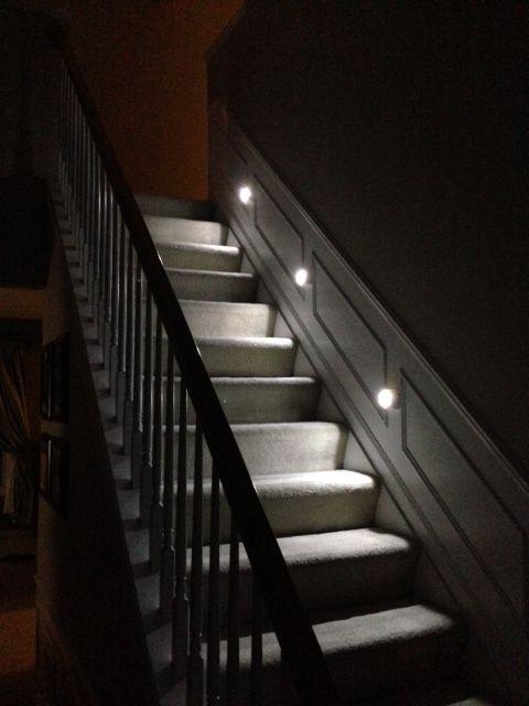 Mr Beams Wireless Motion Sensor Led Step Lights Stair Lighting Mb530 Stair Lights Led Stair Lights Led Step Lights