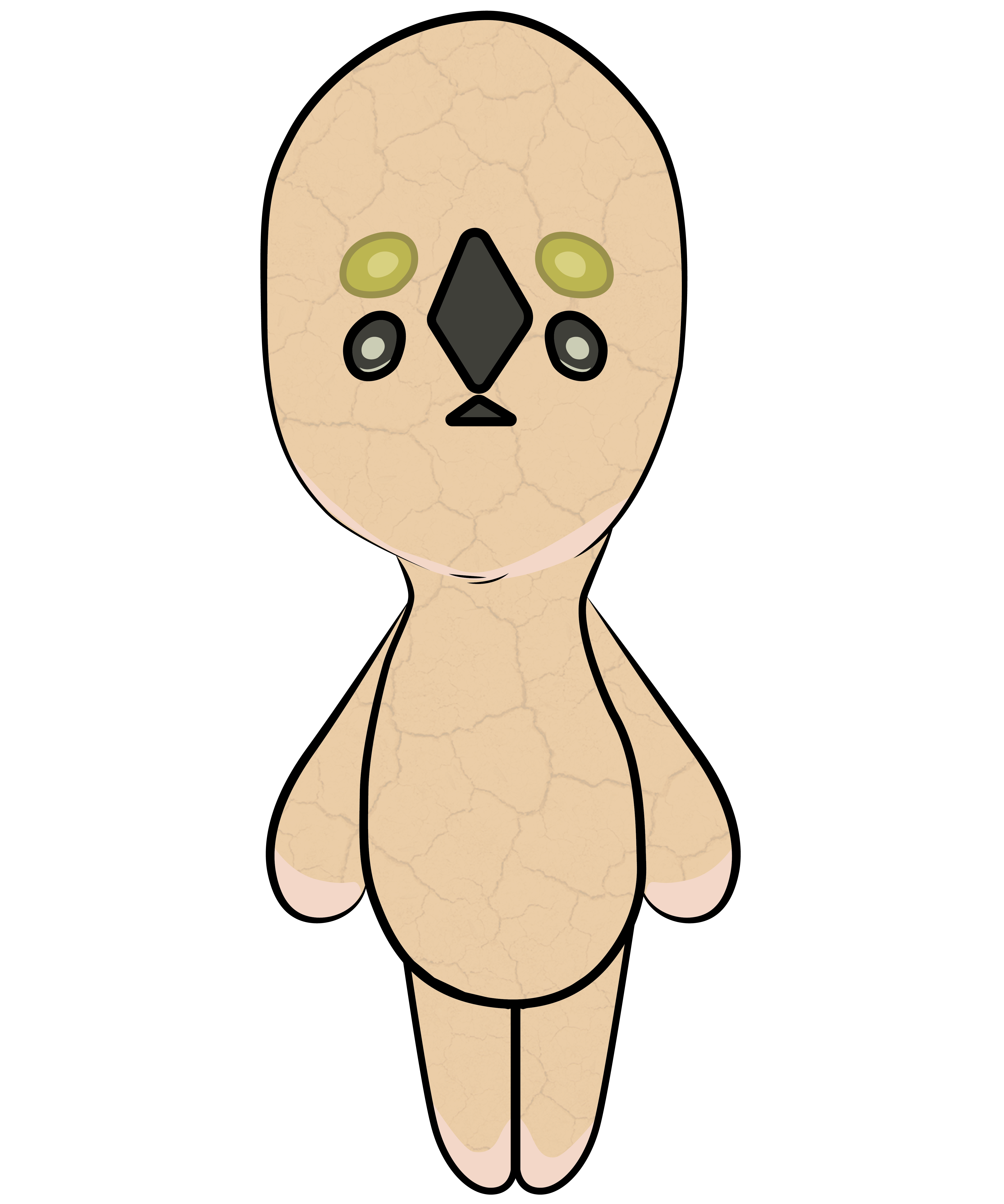 Scp 173 Statue Monster Blink Secure Contain Scary Creepypasta Sticker By Yellowdellow Scp Scary Creepypasta Weird Creatures