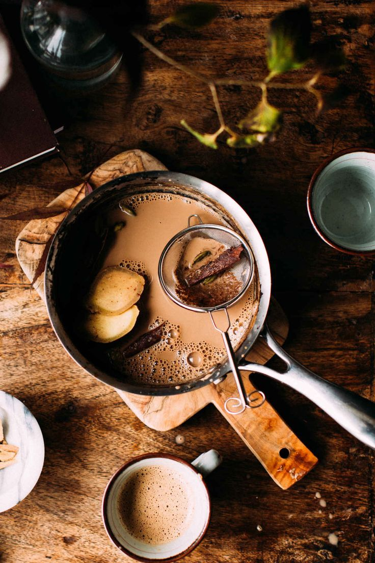 Authentic Homemade Indian Chai   - Drinks -