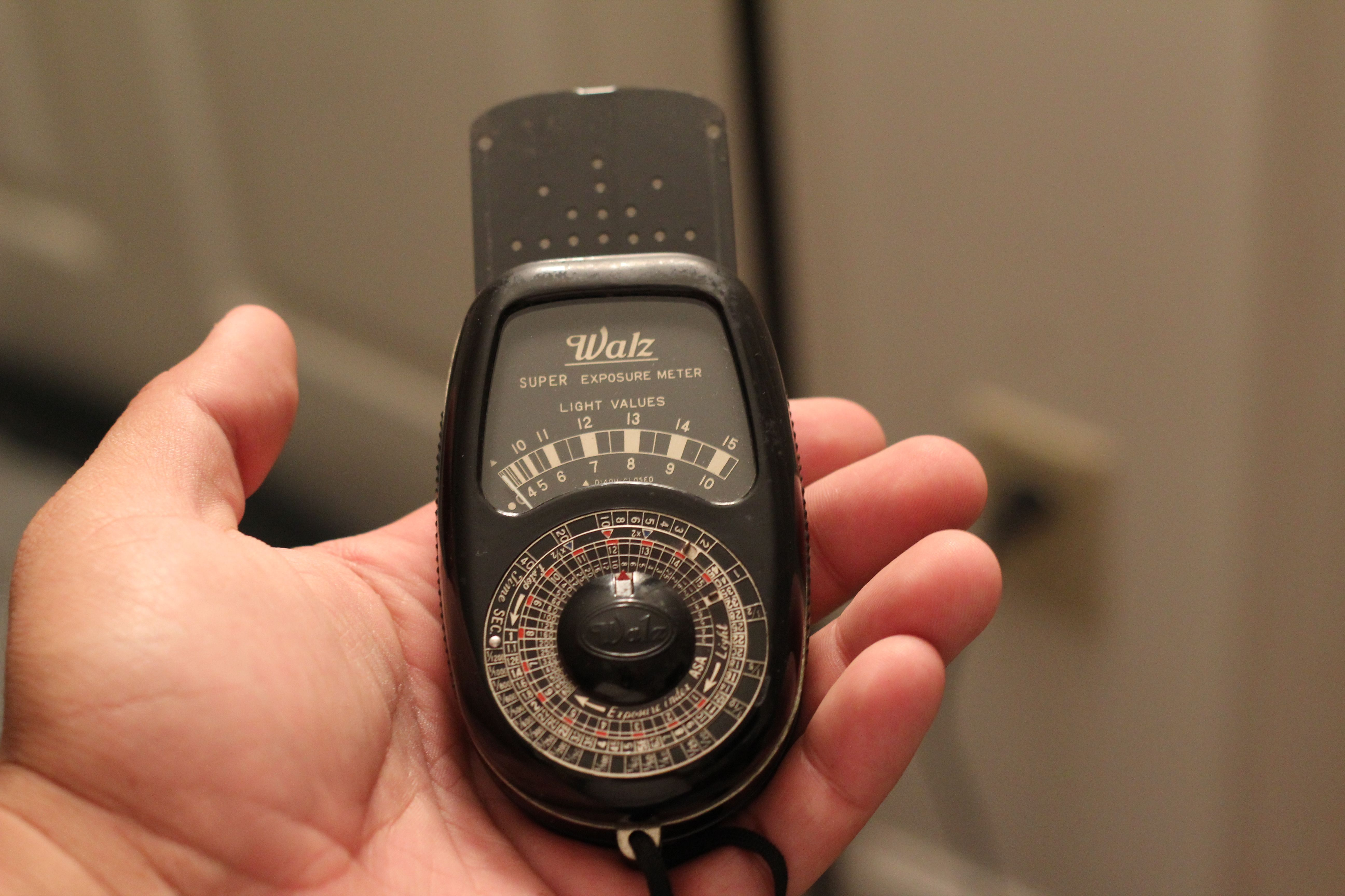 Walz Super Exposure Meter Paid $5 for it.