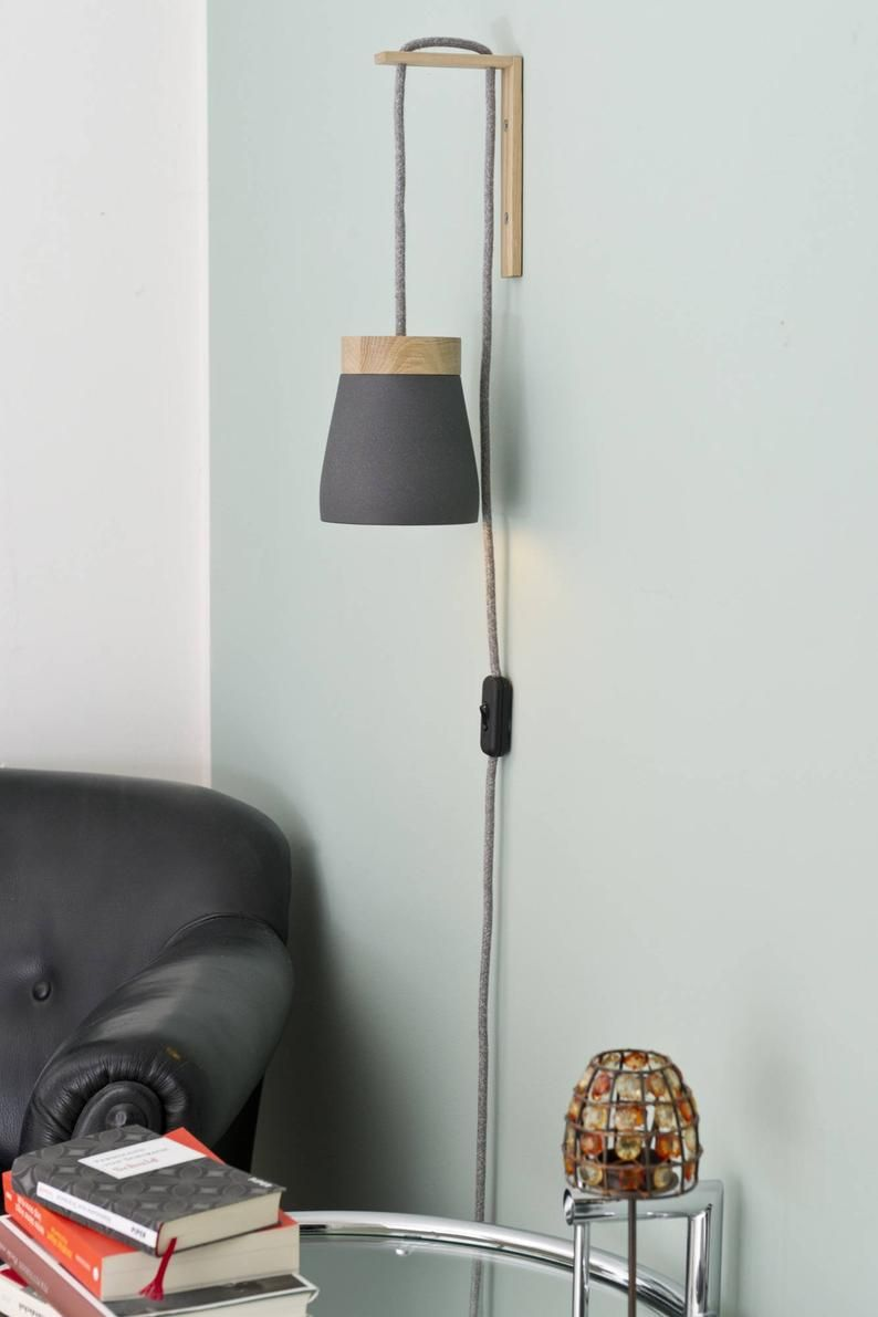 Plug In Wall Sconce Etsy In 2020 Plug In Wall Sconce Plug In Wall Lights Wall Lights