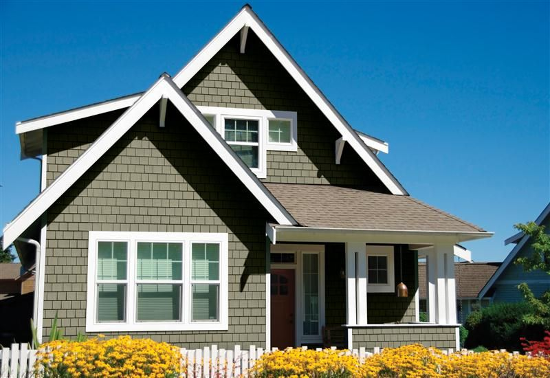 Vinyl Shake Siding   Shingle Siding From Exterior Portfolio