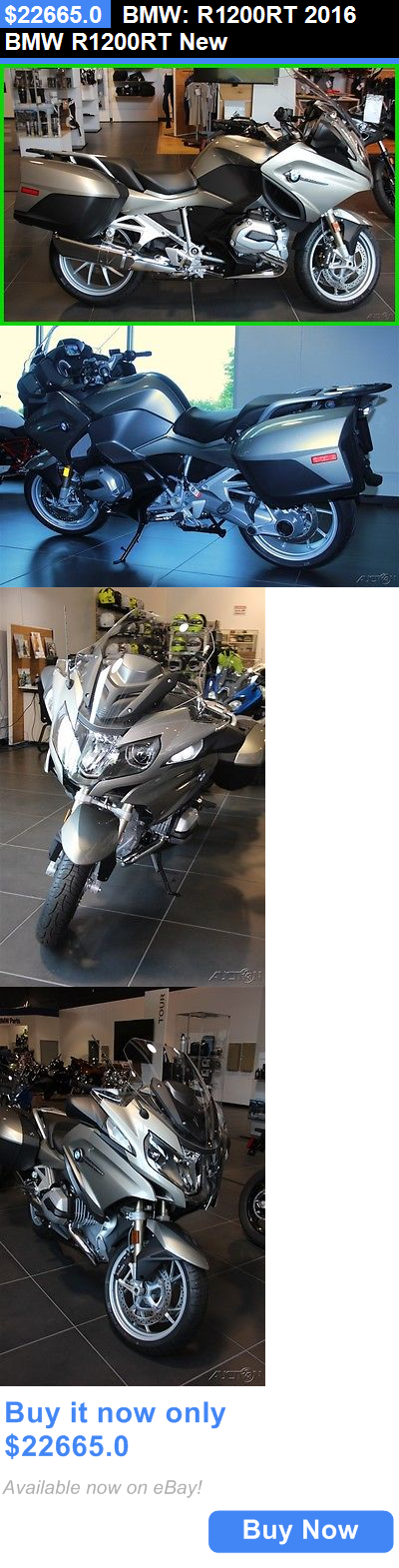 motorcycles And scooters: Bmw: R1200rt 2016 Bmw R1200rt New BUY IT NOW ONLY: $22665.0