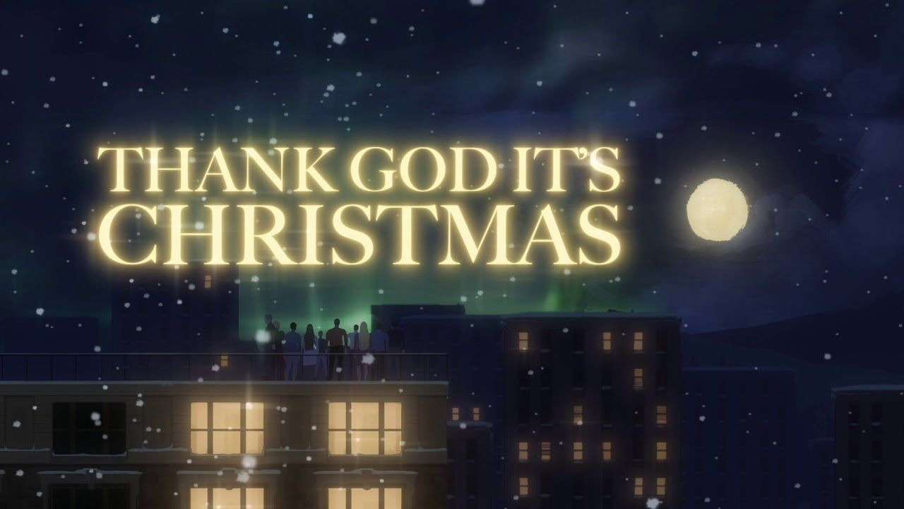 Queen Thank God It S Christmas Official Lyric Video Youtube Queen Albums Songs With Meaning Christmas Lyrics