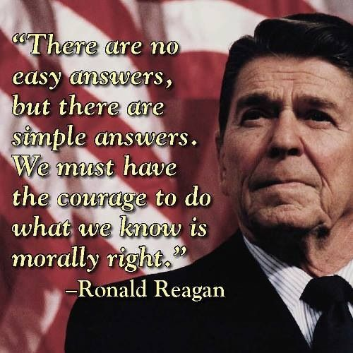 Ronald Reagan I Love Ronald Reagan's Quotes