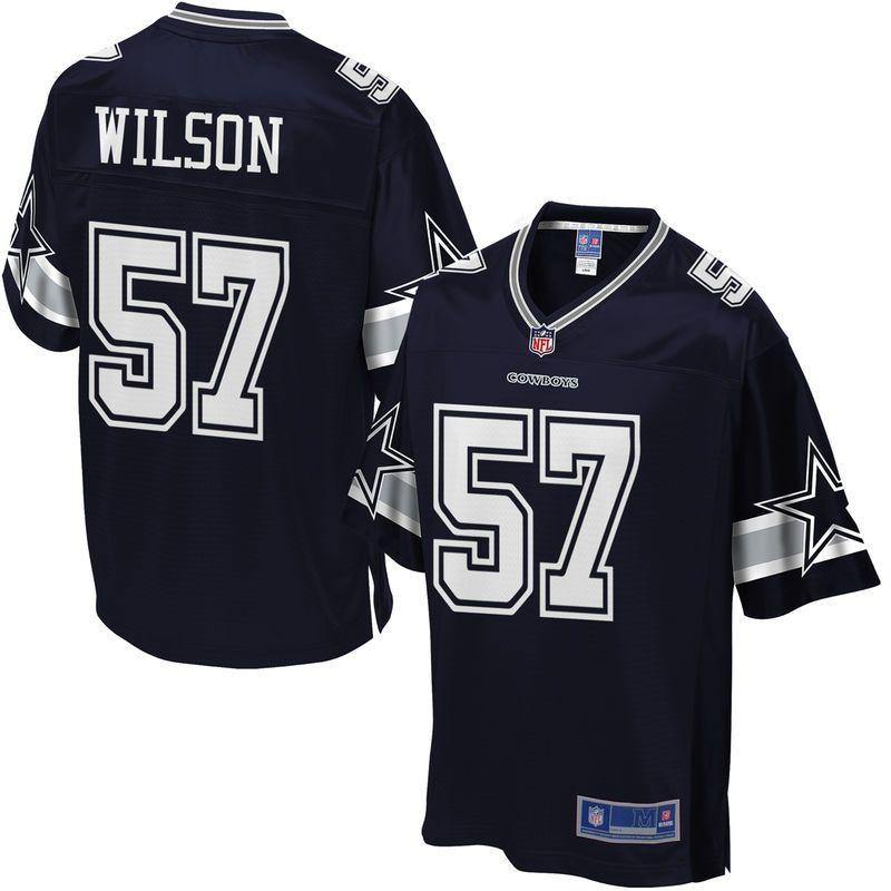 detailing 18807 7f325 Youth Dallas Cowboys Damien Wilson NFL Pro Line Team Color ...