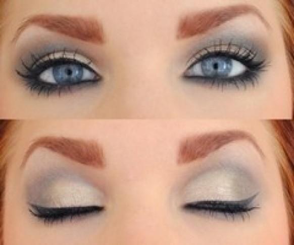 Wedding Makeup ~ Smokey blue