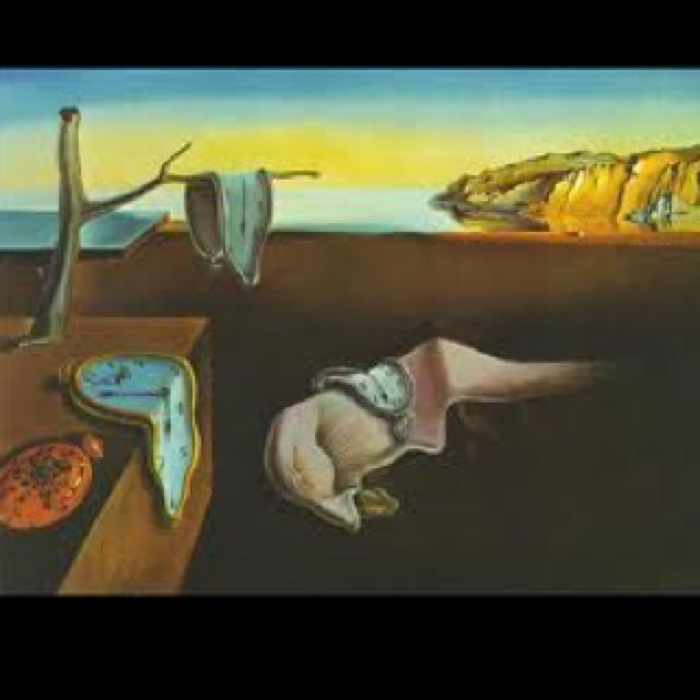 Clocks by Dali... love this painting