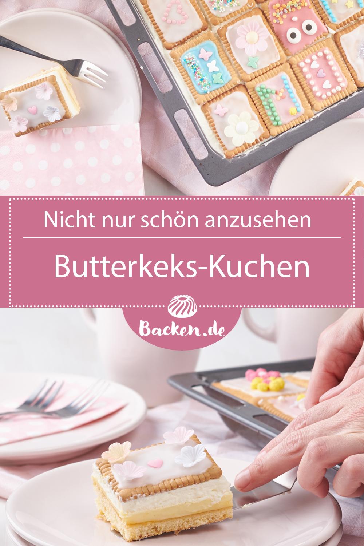 Butterkeks Rezept Blechkuchen Butterkekse Kuchen
