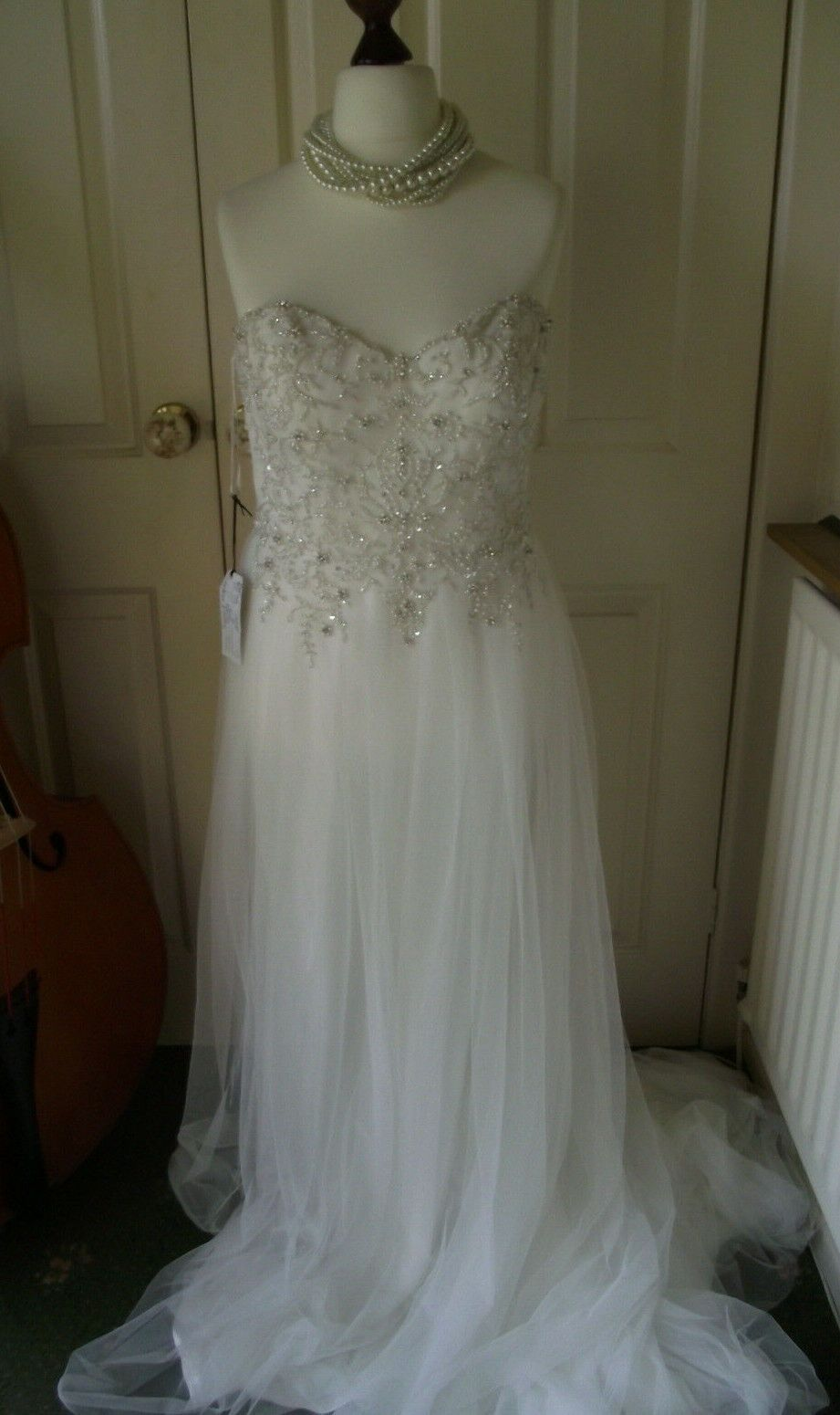 SOTTERO MIDGLEY WEDDING DRESS White BNWT originally £1300