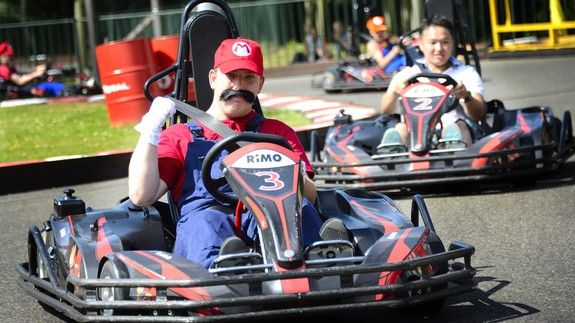 Nintendo puts a banana peel in the path of a real life 'Mario Kart' business