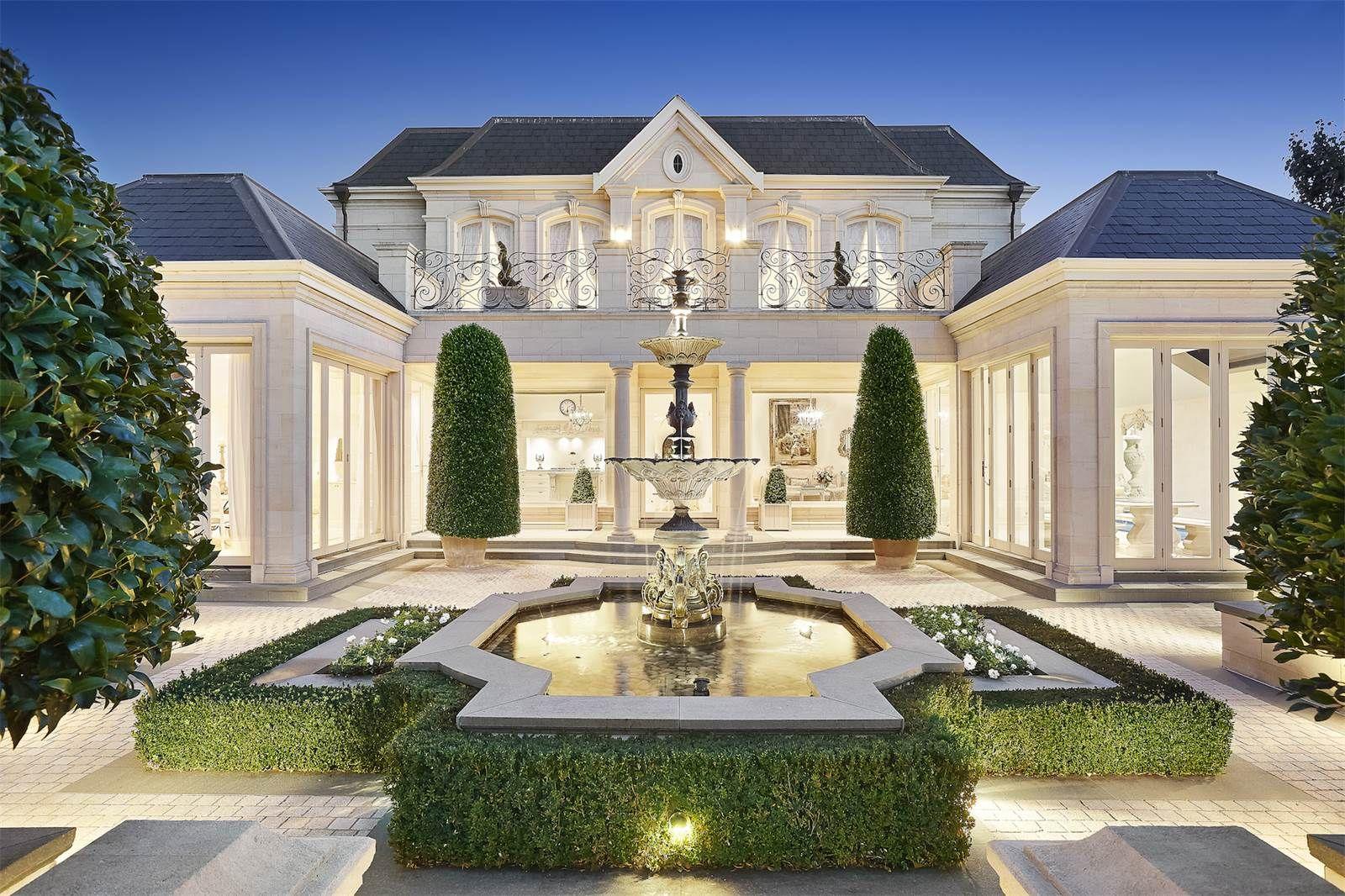 pin de en villa elevation pinterest casas de ensue o fachadas y casas. Black Bedroom Furniture Sets. Home Design Ideas