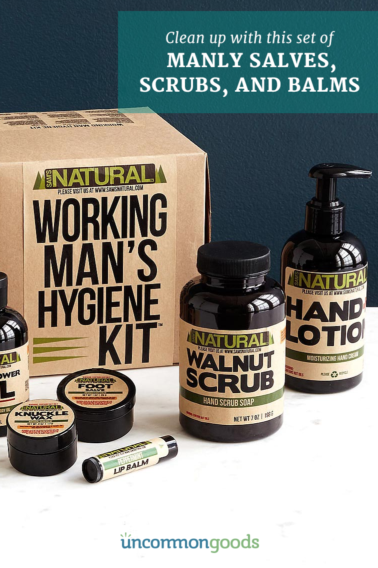 Hard Working Man S Hygiene Kit Spa Crafts Mechanic Gifts New