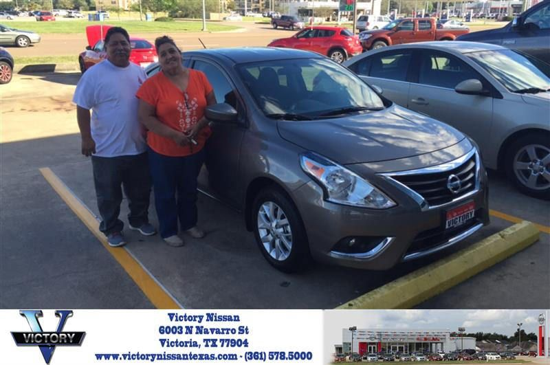 Victory Nissan Victoria Tx >> Congratulations Yolanda On Your Nissan Versa From Mallorie