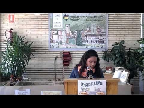 Semana Cultural Lectura Continuada Del Quijote Lectura Centro Educativo El Dia Del Libro