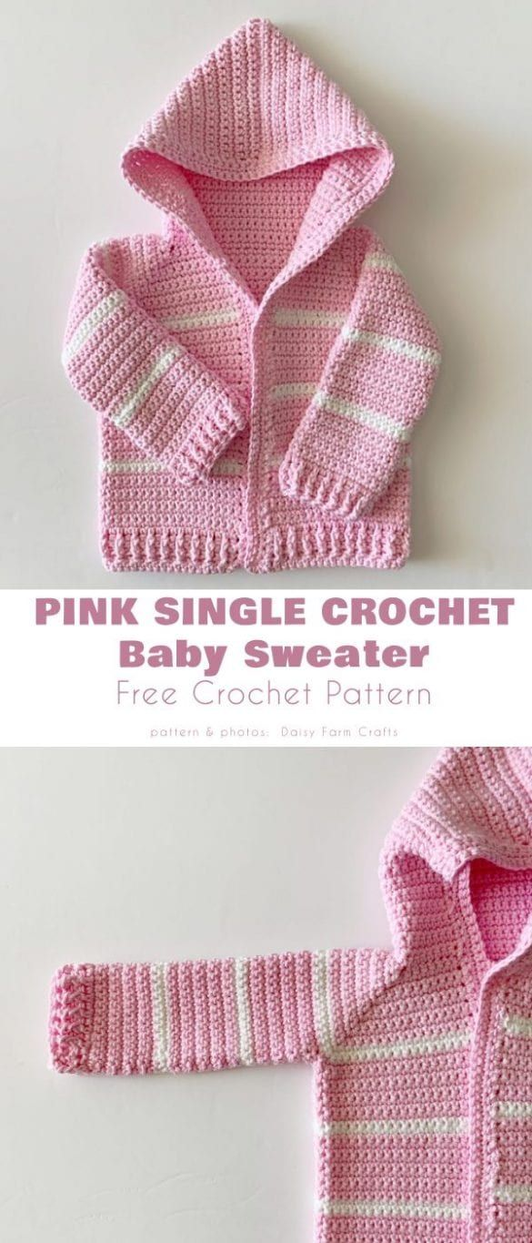 The Easiest Crochet Patterns for Baby Hoodie