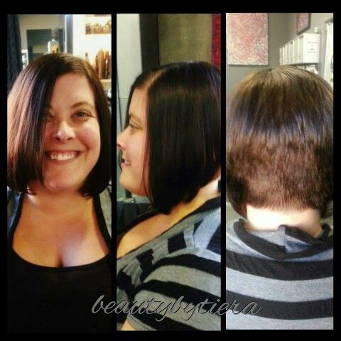 Extremely dramatic A-Line #haircut #aline #shavedhead #girlswithshavedheads #Beauty #beautybytiera