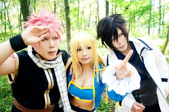 Fairy tail cosplay! AnimeNinja: https://www.facebook.com/211860375973949/
