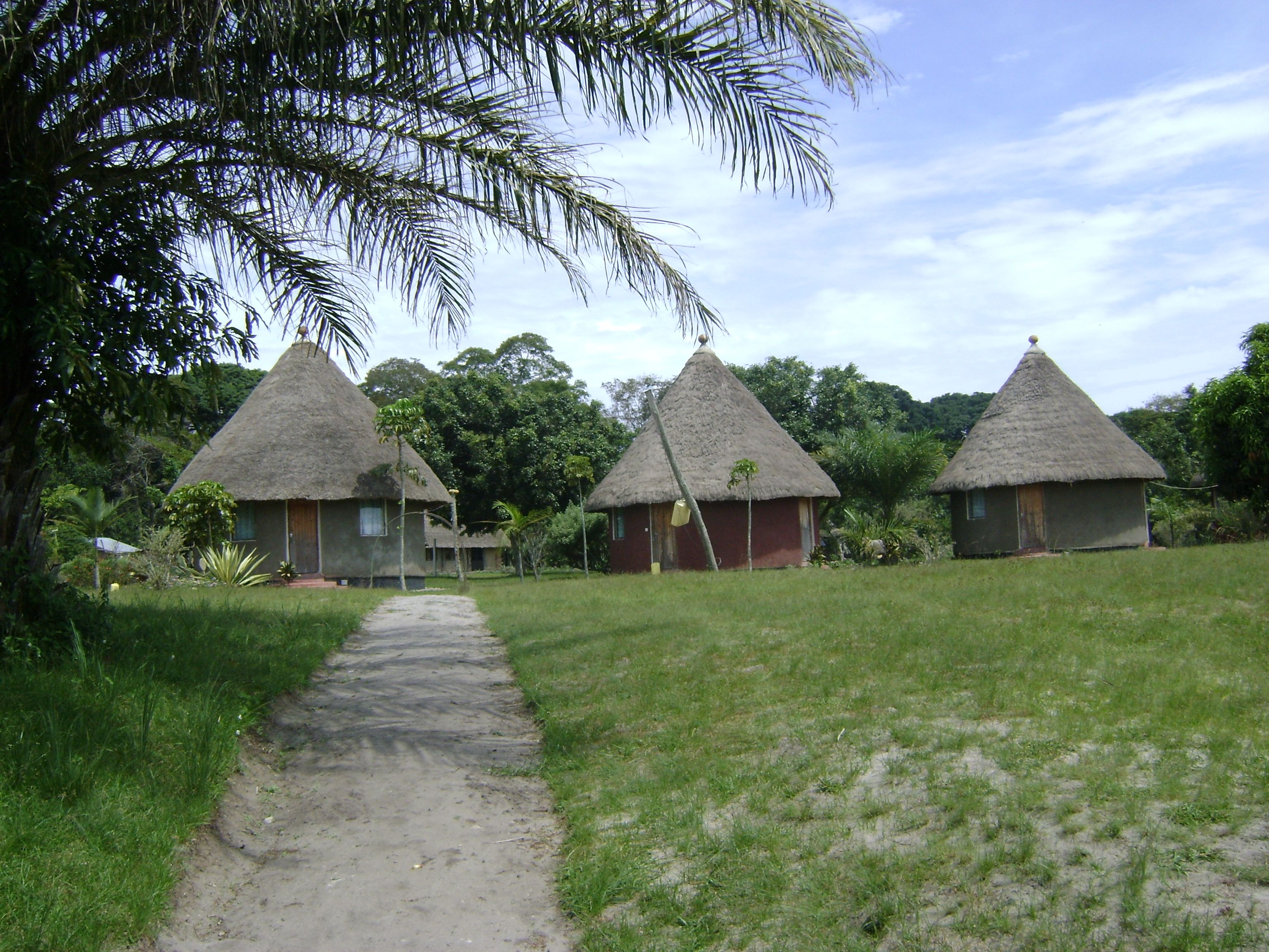 Maybe you\'ll sleep in grass thatched cottages | Going to Ssese ...