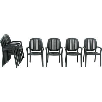 Costco: Nardi  Ponza Resin Stackable Armchairs   4 Pack