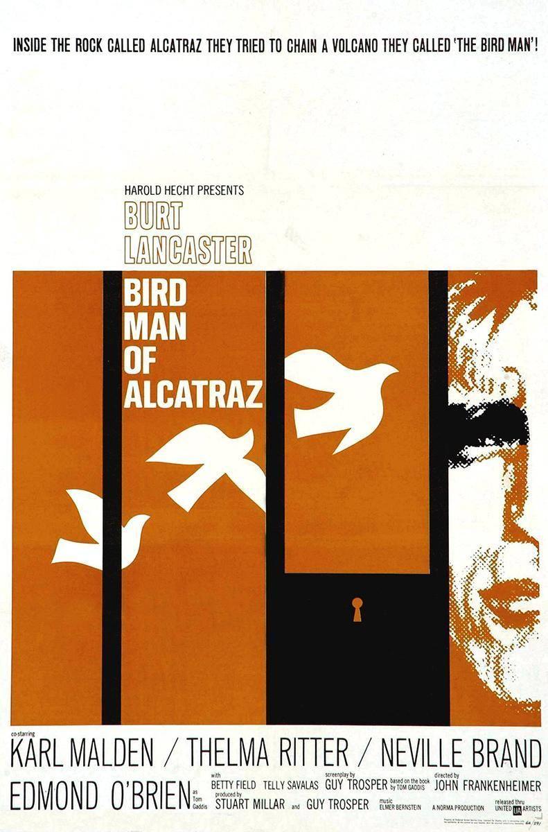 映画 終身犯 Birdman of Alcatraz (1962)   That's Movie Talk!   映画 ...