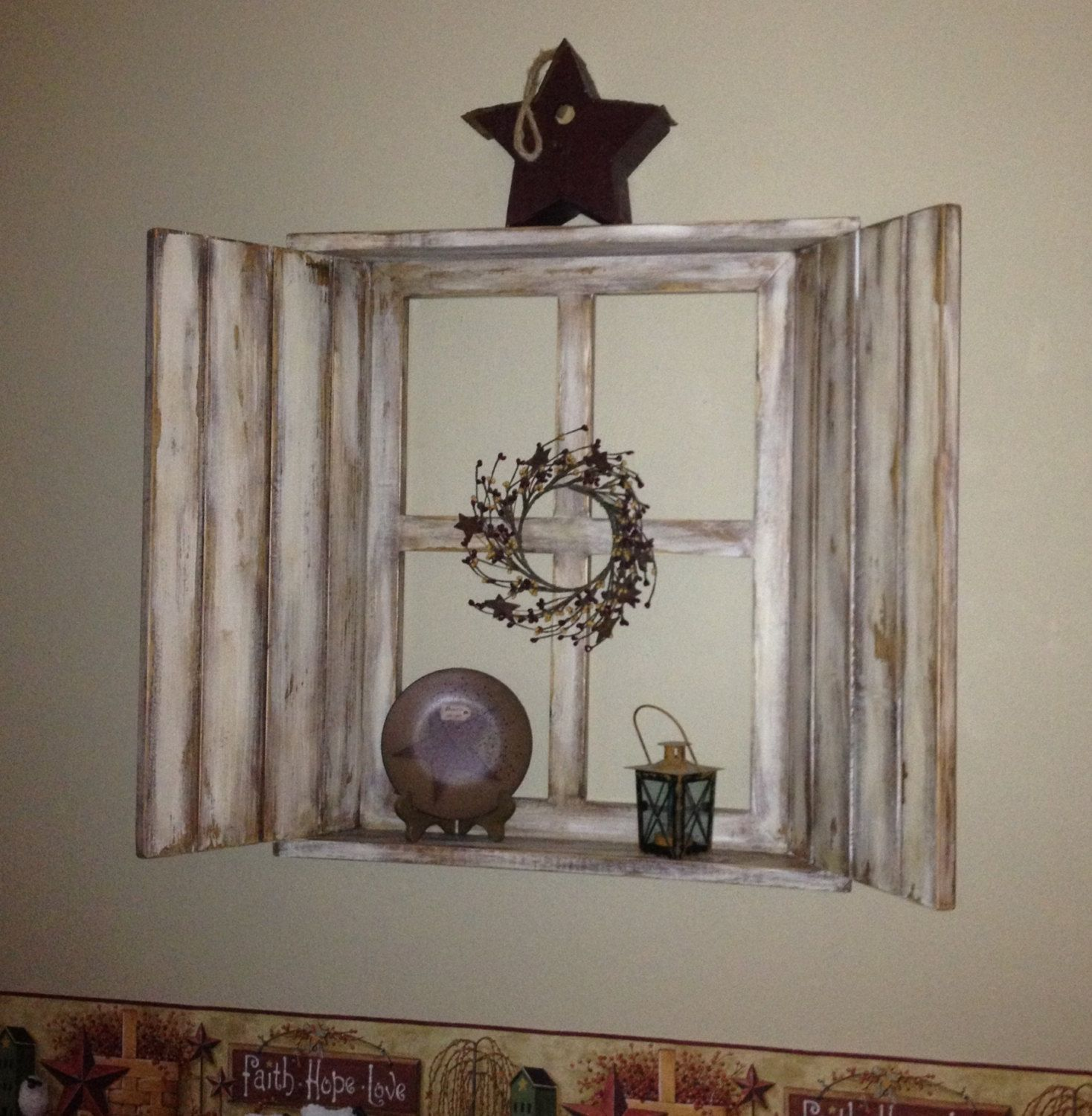 6 pane window frame ideas  rustic wood window frame  pane with by primitivesignsnsuch