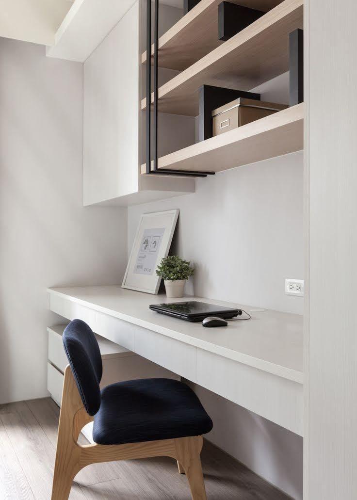Hoe creëer je een werkplek in je woonkamer | New house | Pinterest ...