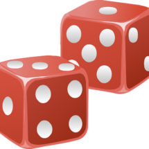 Red Dice Clip Art Games For Kids Color Change