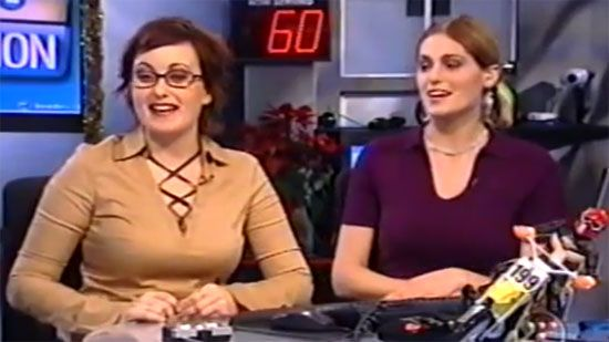 Video: Tech TV Host Loses It - A Funny Video on KillSomeTime