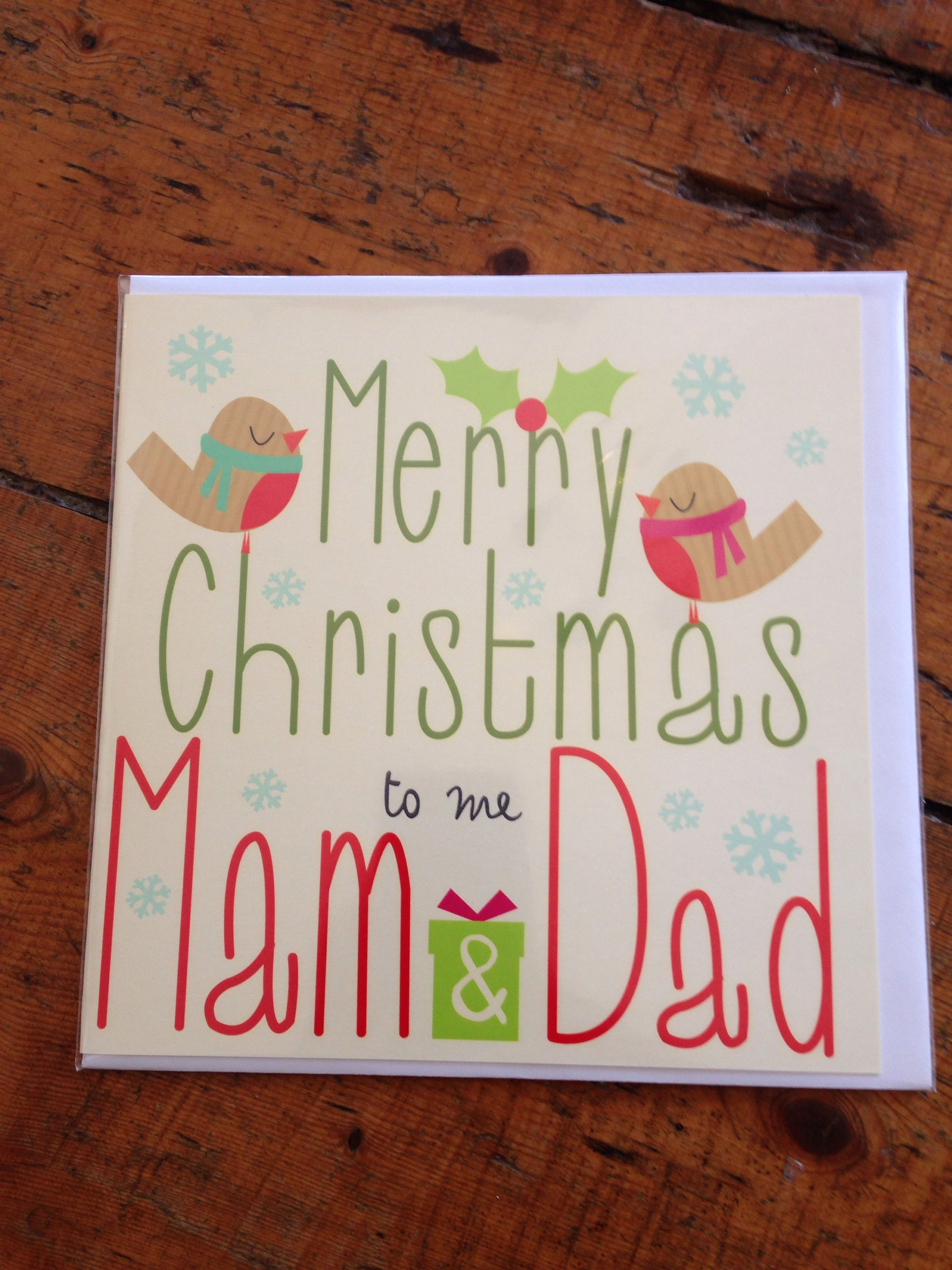 Lush geordie christmas card for your parents. | Geordie cards ...