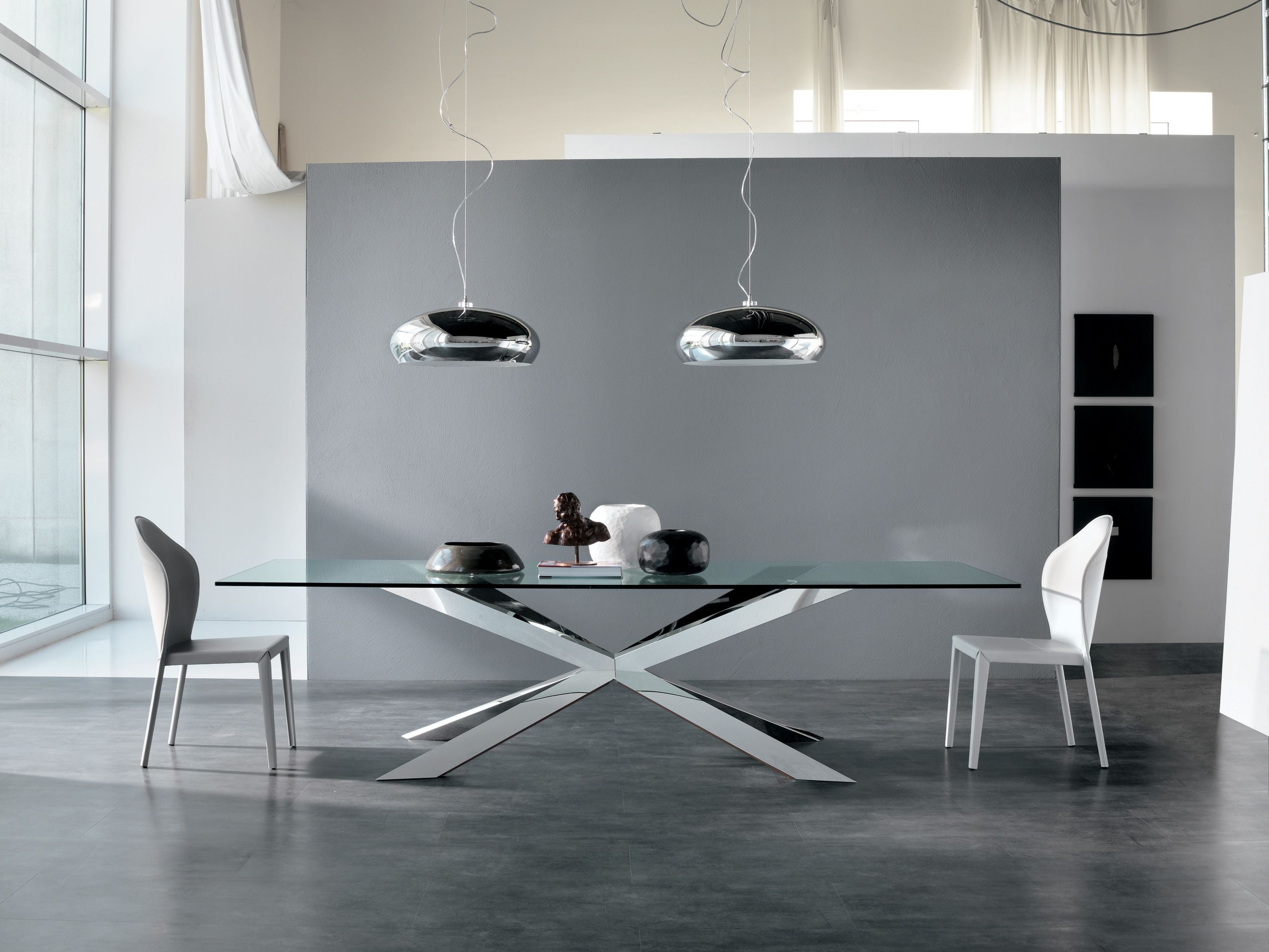Angel Chair By Cattelan Italia With Images Glass Dining Table