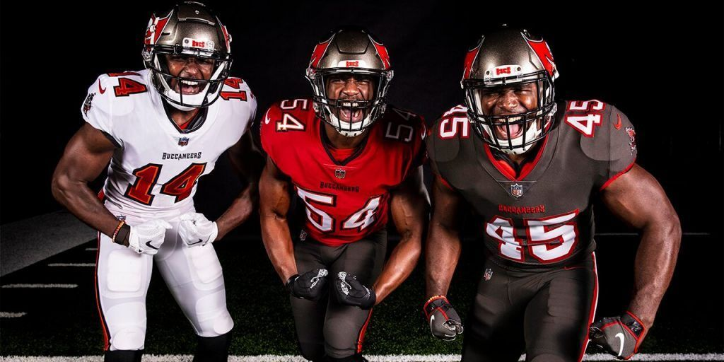 Buccaneers Bring Out New Unis In 2020 New Nfl Uniforms Nfl Uniforms Tampa Bay Buccaneers