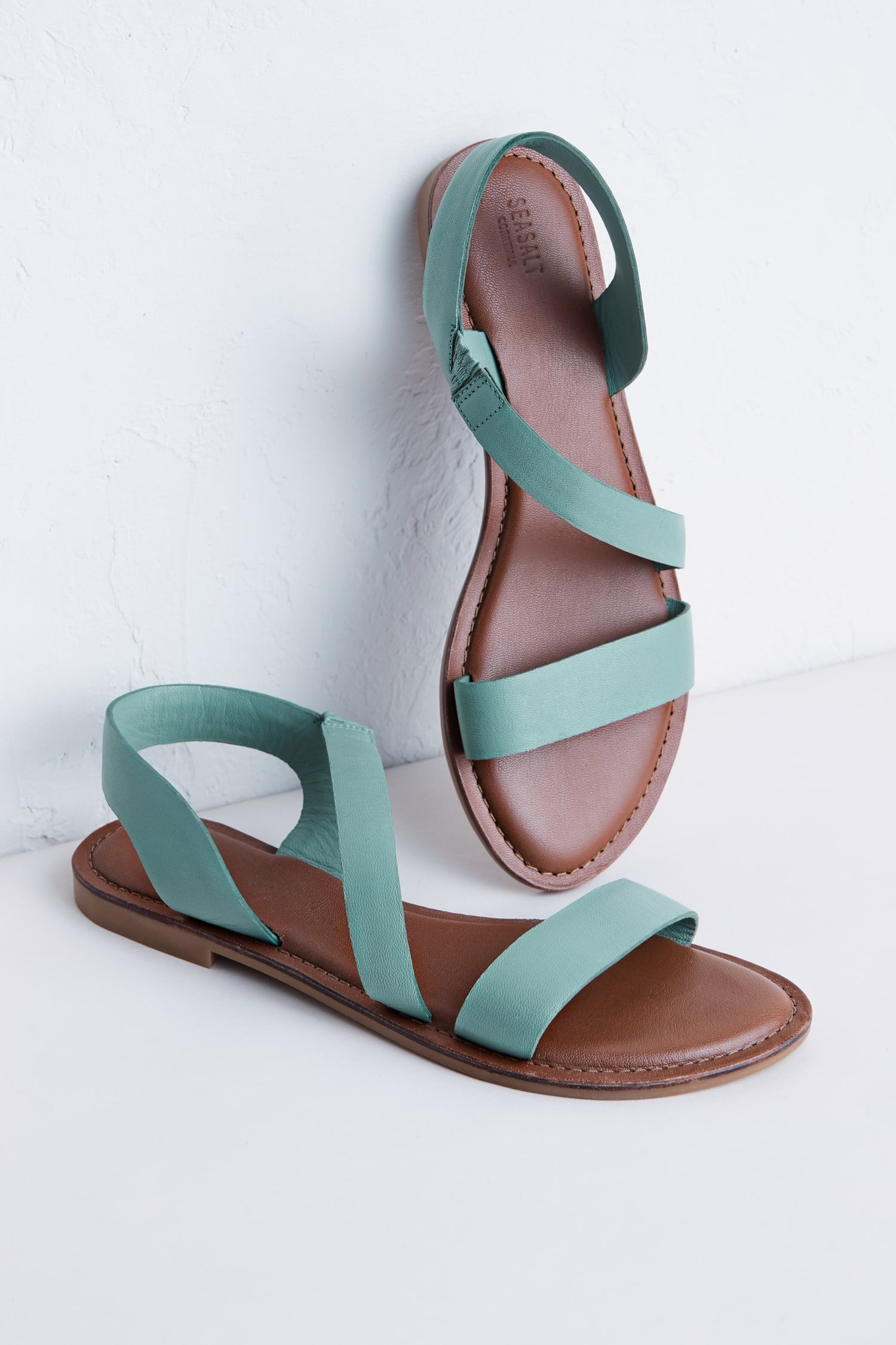 A lovely flat sandal in beautiful soft leather, Seasalt