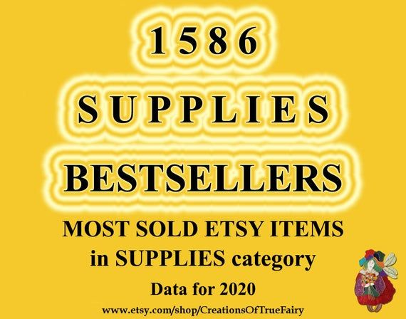 Best selling items in SUPPLIES 2020 Most sold craft supplies Most popular supplies for art hobby jew