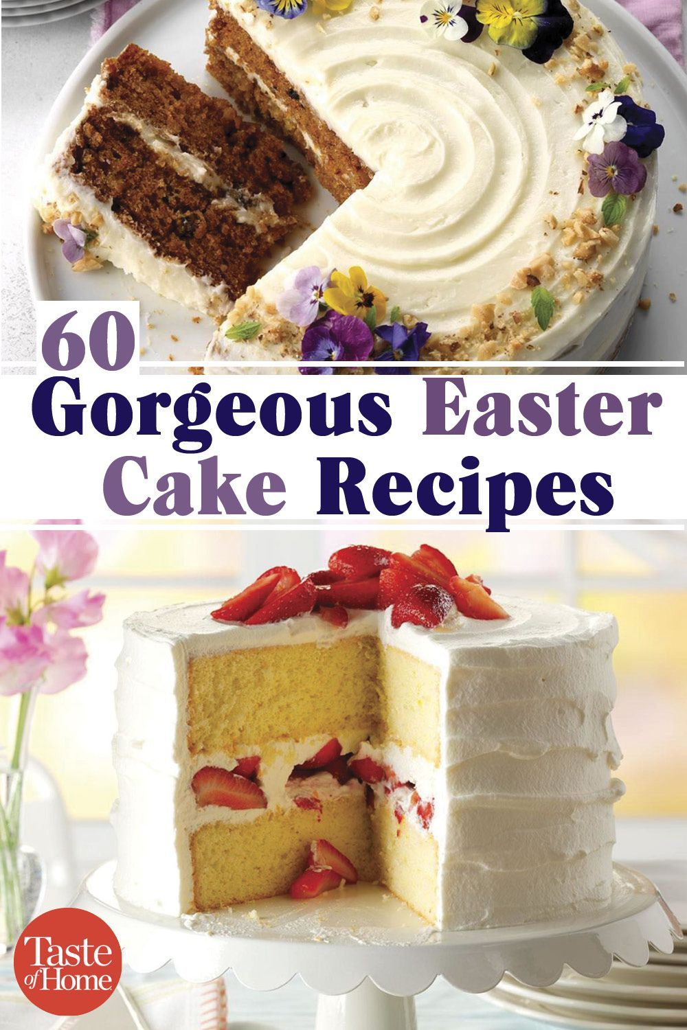 60 Gorgeous Easter Cake Recipes