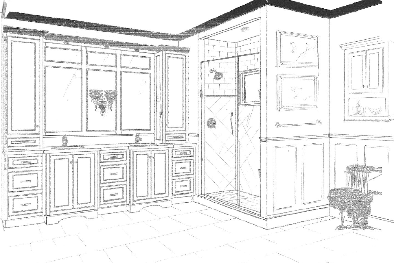 Bathroom With Closet Design Awesome Master Bathroom Closet Layout Google  Search