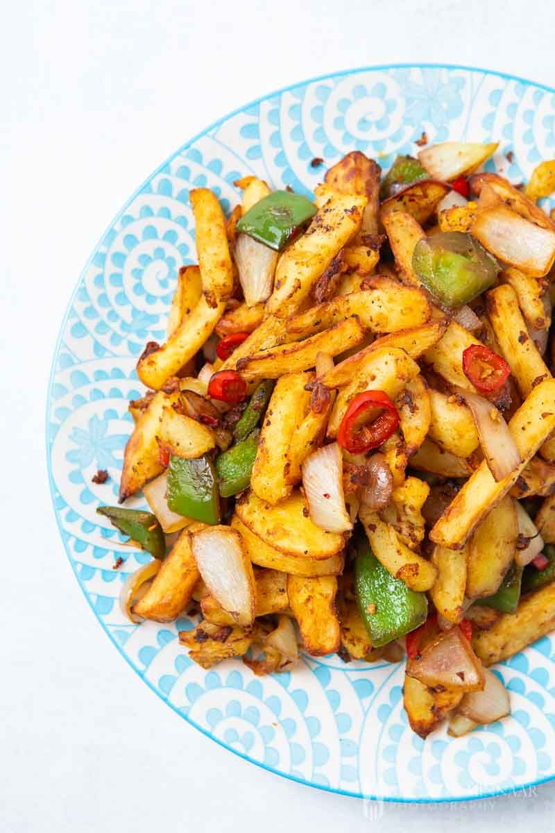 Photo of Salt and Chilli Chips – forget ordering pricy chips from Chinese takeaways